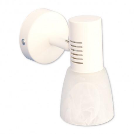 Aplique de Baño Blanco 1 Luz E14