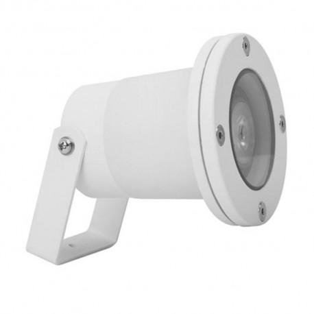 Proyector de Exterior For Light Blanco con Estaca