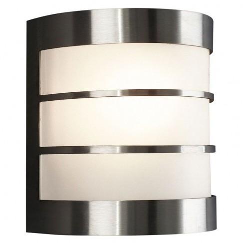 Aplique de Pared Calgary Acero con bombilla Philips LED