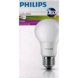 Aplique Calgary Acero con bombilla Philips LED
