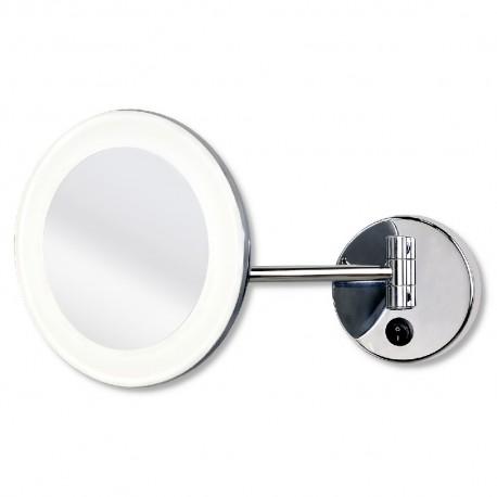 Espejo de Aumento con Luz LED 4000K 3W IP44