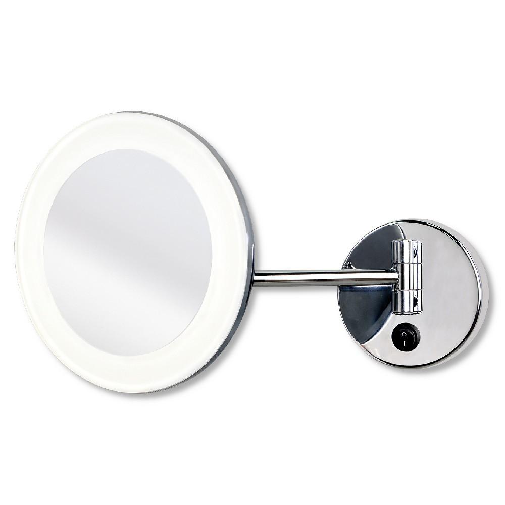 Espejo Bano Aumento Con Luz.Boan Espejo De Aumento Led Para Bano