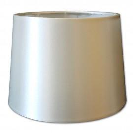 Pantalla para lámparas de Raso Beige 30cm