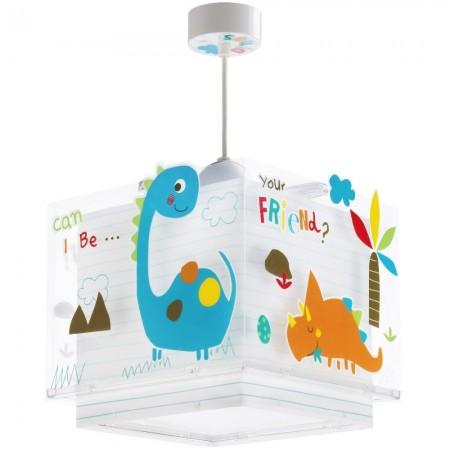 Lámpara Infantil Colgante Dalber Dinos con Difusor