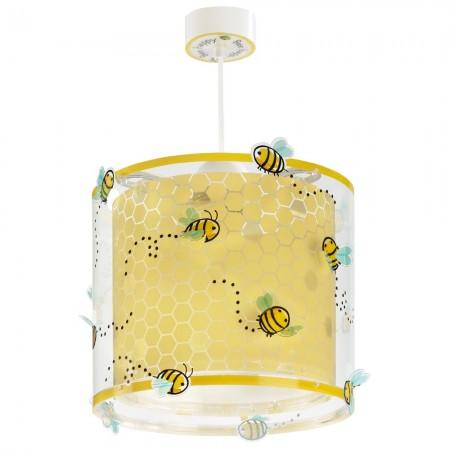 Lámpara Infantil Colgante Dalber Bee Happy Abejas con Difusor