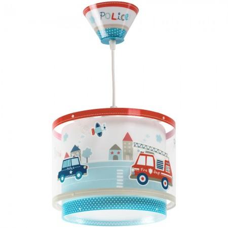 Lámpara Infantil Colgante Dalber Police con Difusor