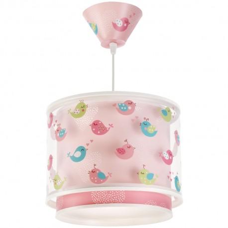 Lámpara Infantil Colgante Dalber Birds Pájaros con Difusor