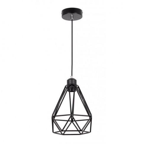 Lámpara Colgante kentucky Negro 1 luz
