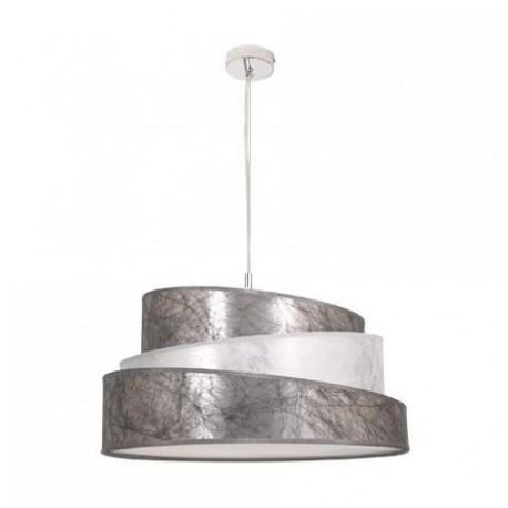 Lámpara Colgante Colonia 50 Cromo Plata 3 Luces