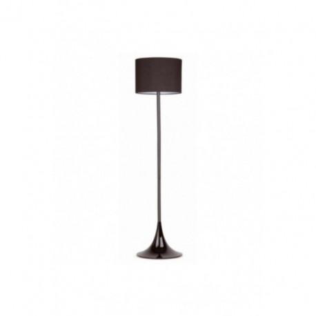 Lámpara de pie Black Negro 1 luz