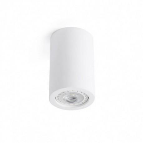 Plafón de Techo Sven redondo blanco 1 luz