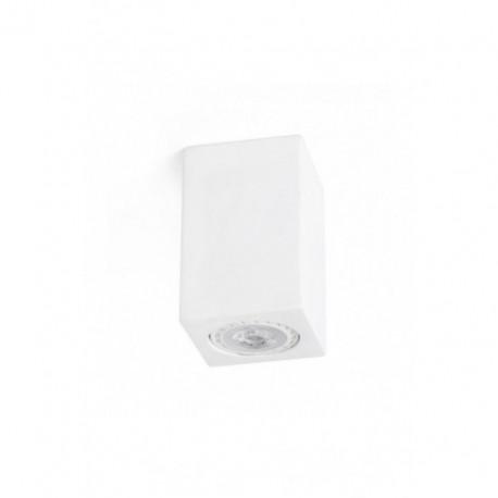 Plafón de Techo Sven cuadrado blanco 1 luz