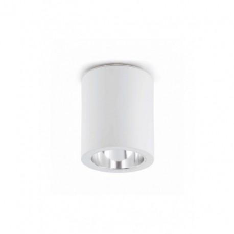 Plafón de Techo Pote Blanco 1 luz