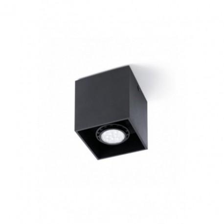 Plafón de Techo Tecto Negro 1 luz