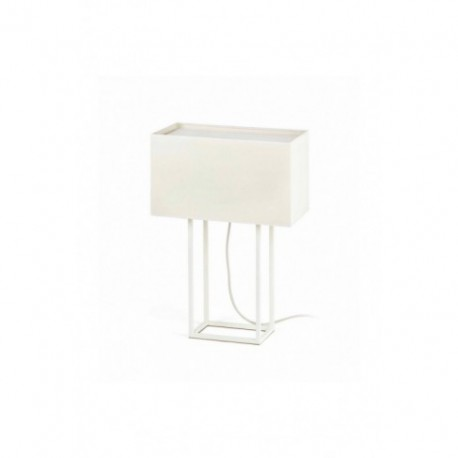 Lámpara de Sobremesa Vesper Blanco 2 Luces