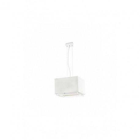 Lámpara Colgante Vesper Blanco 3 Luces