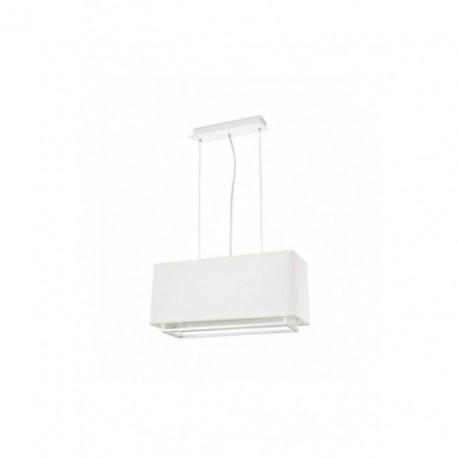 Lámpara Colgante Vesper Blanco 2 Luces