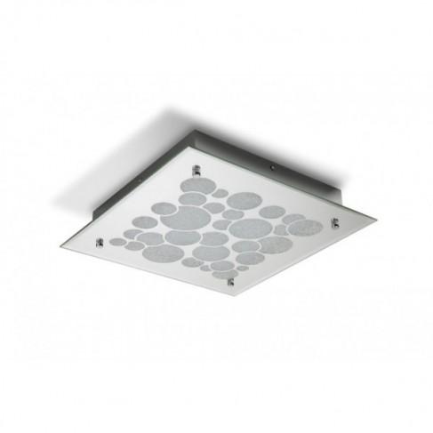 Plafón de Techo Coral LED Cuadrado Grande espejo