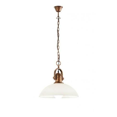 Lámpara Colgante Montend Cobre Viejo 1 Luz