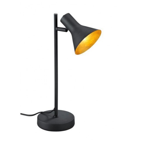 Lámpara de Sobremesa Nina Negro Oro 1 Luz