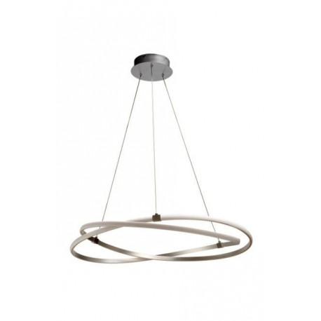 Lámpara Colgante Infinity 42w Led Cromo