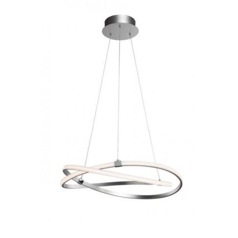 Lámpara Colgante Infinity 60w Led Cromo