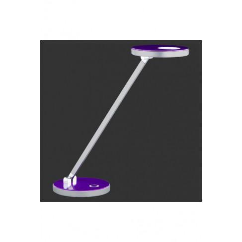 Lámpara Flexo Exception Led Cromo-Lila