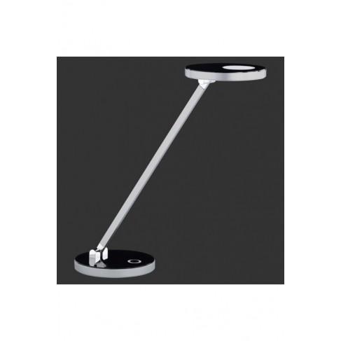 Lámpara Flexo Exception Led Cromo-Negro