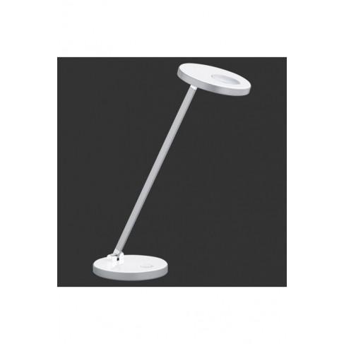 Lámpara Flexo Exception Led Cromo-Blanco