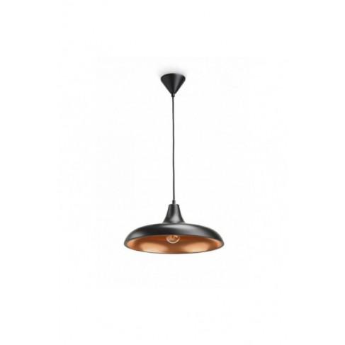 Lámpara Colgante Durham Negro 1 Luz