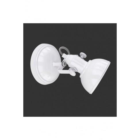 Lámpara Foco Gina Blanco 1 Luz