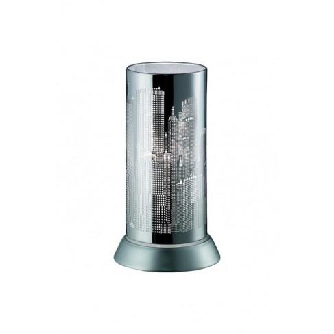 Lámpara Sobremesa City Cromo 1 Luz