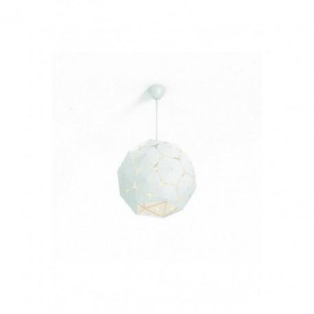 Lámpara Colgante Corkwood Blanco 1 Luz