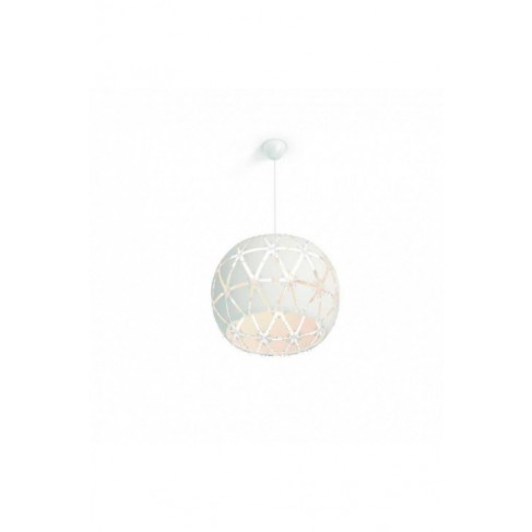 Lámpara Colgante Sandalwood 60 Blanco 1 Luz
