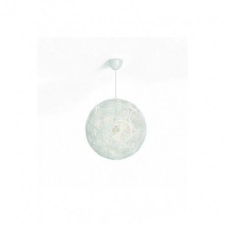 Lámpara Colgante Ring Blanco 1 Luz