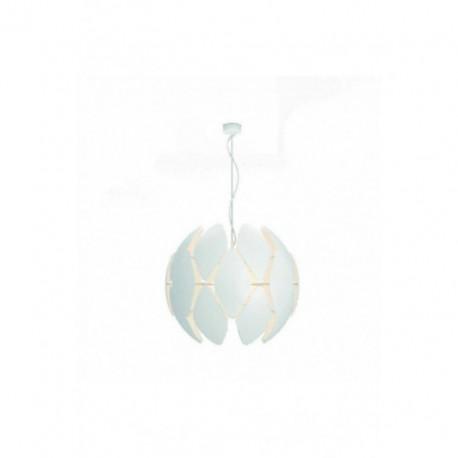 Lámpara Colgante Chiffon 80 Blanco 1 Luz