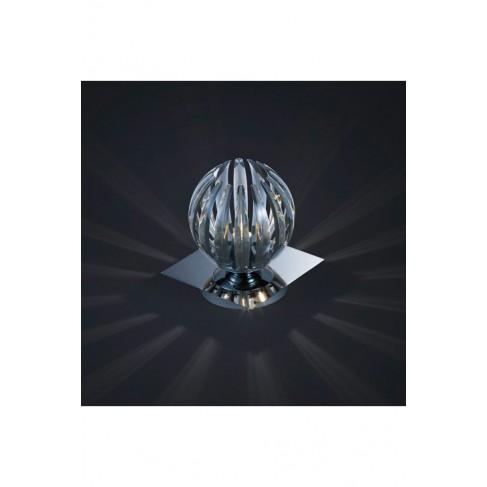 Lámpara Sobremesa Tactil Gajos Antracita 1 Luz