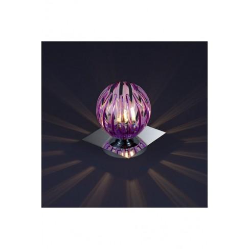 Lámpara de Sobremesa Tactil Zucca Lila 1 Luz