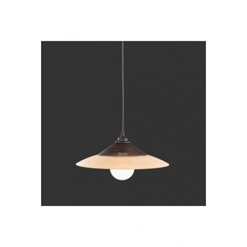 Lámpara Colgante Sofía Marron Óxido 1 Luz