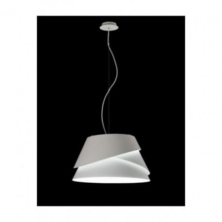 Lámpara Colgante Grande Alborán blanco