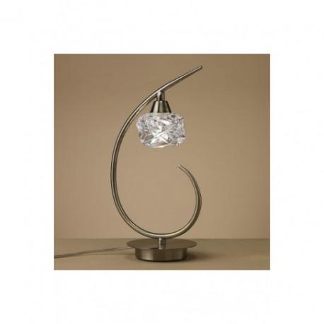 Lámpara Sobremesa Maremagnum Cuero 1 Luz