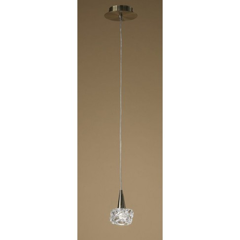 Lámpara Colgante Maremagnun Cuero 1 Luz