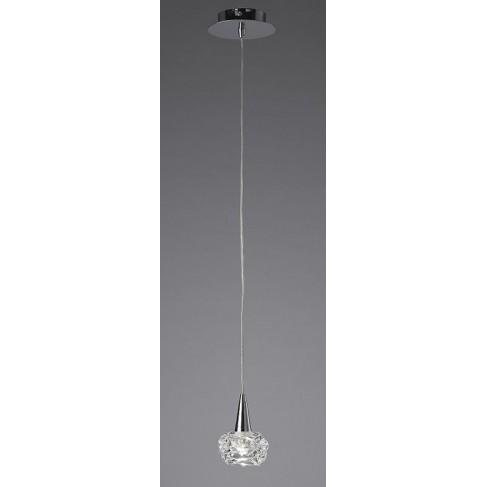 Lámpara Colgante Maremagnun Cromo 1 Luz