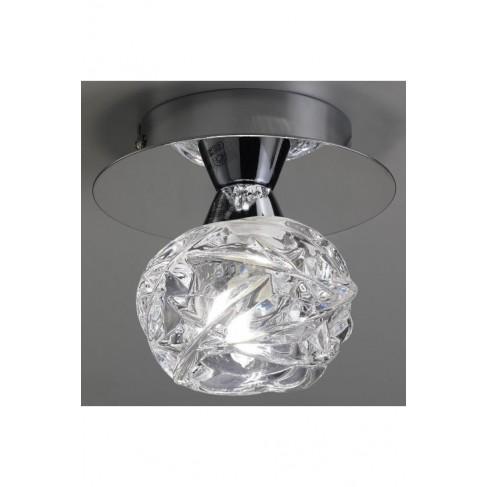 Lámpara Plafón de Techo Maremagnun Cromo 1 Luz