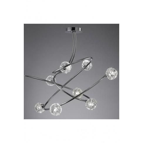 Lámpara Maremagnun Cromo 8 Luces