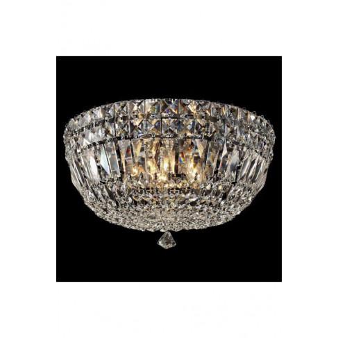 Lámpara Plafón de Techo Canasta Crystal 5 Luces