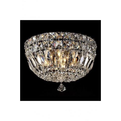 Lámpara Plafón de Techo Canasta Crystal 4 Luces 25cm
