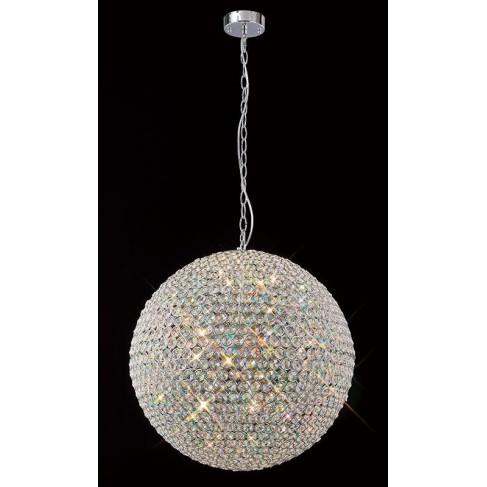 Lámpara Colgante Bola Crystal 9 Luces