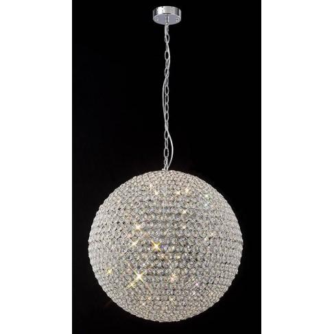 Lámpara Colgante Bola Crystal 7 Luces