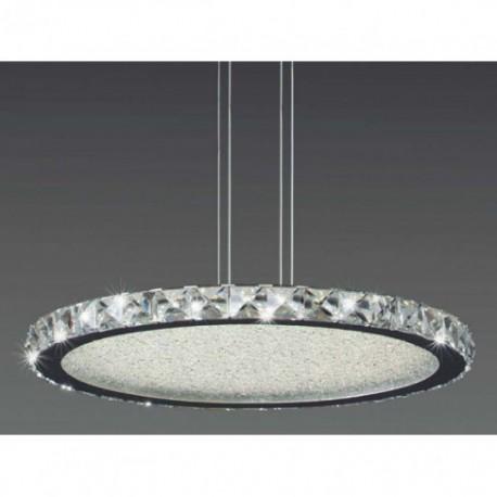 Lámpara Colgante Redondo Crystal Led 42cm